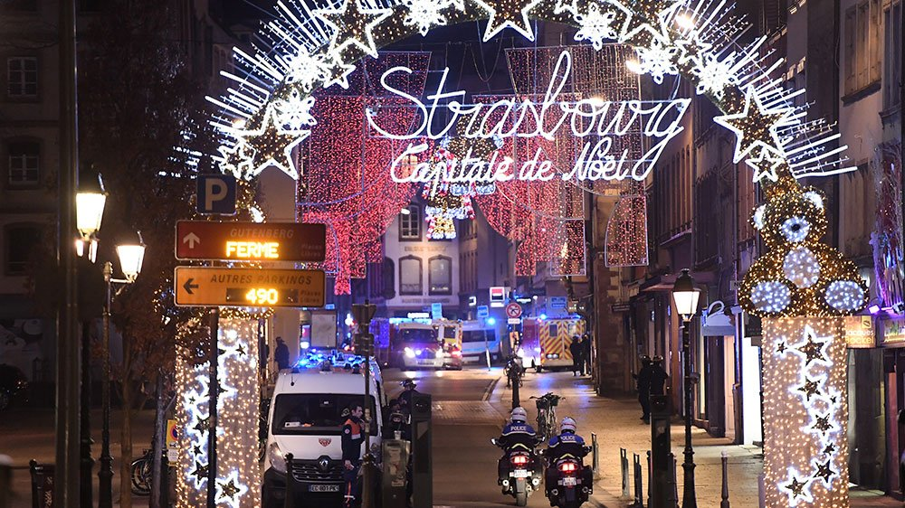 Strasbourg Christmas market turned into a mourning market when gun man injured 12 and killed three at a spot.