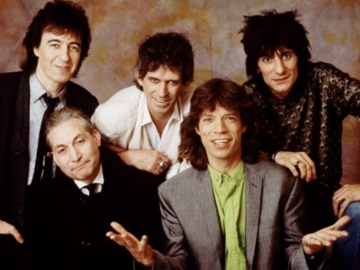 Rolling Stones at concert
