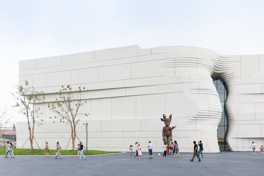 The Museum of Contemporary Art Yinchuan (MOCA)