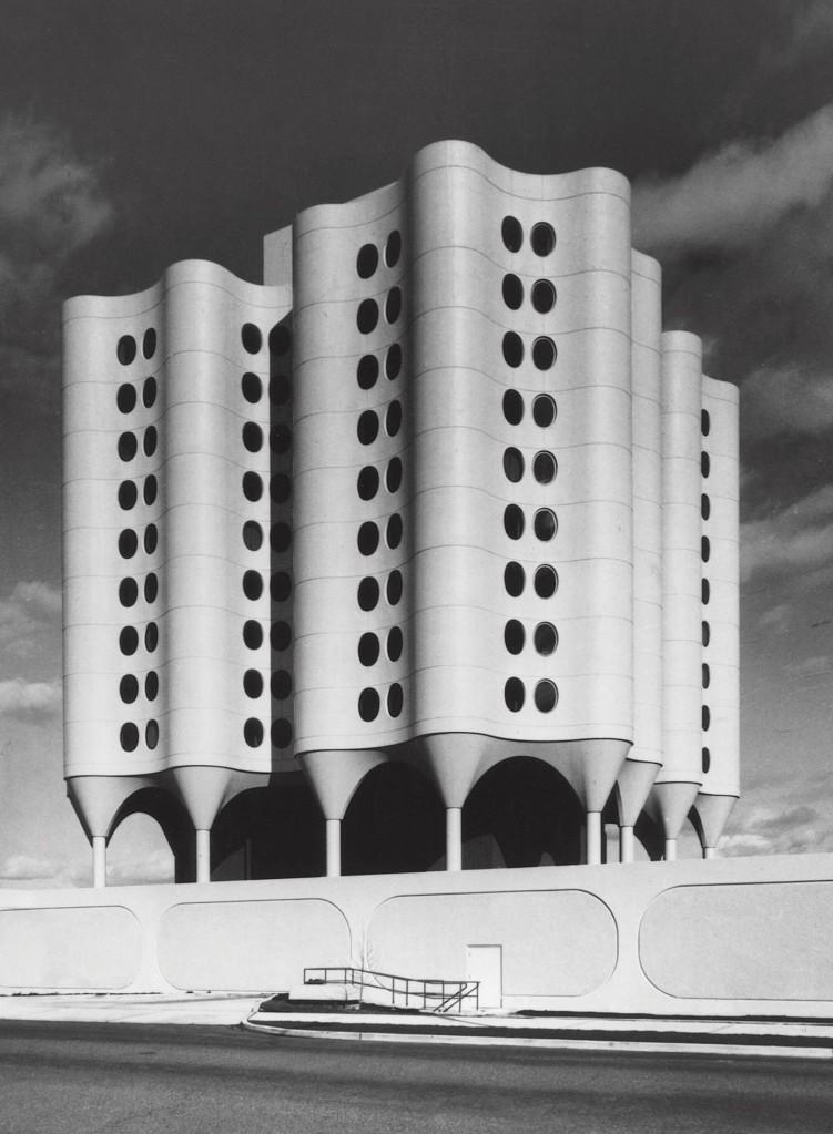 St. Joseph's Hospital by Bertrand Goldberg, Tacoma, Wash., United States, 1974