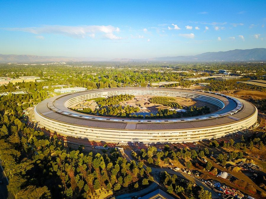 Apple Park by Foster + Partners (Cupertino, California)