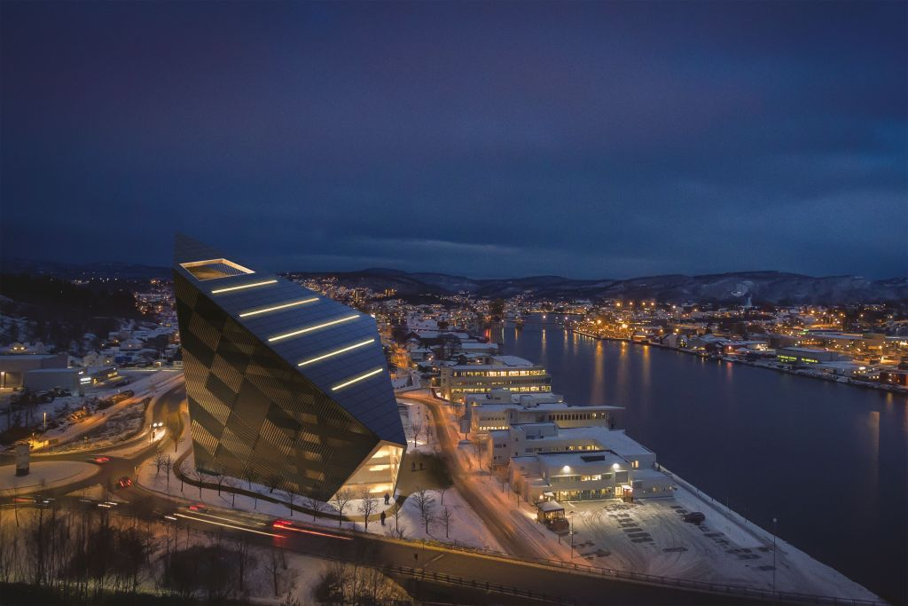 Powerhouse Telemark, Porsgrunn, Norway