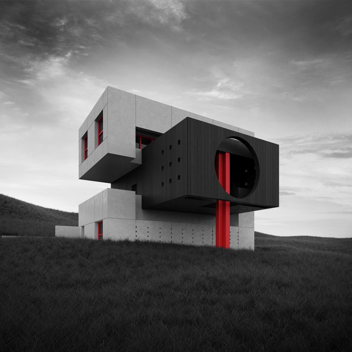 Brutalist House Exteriors