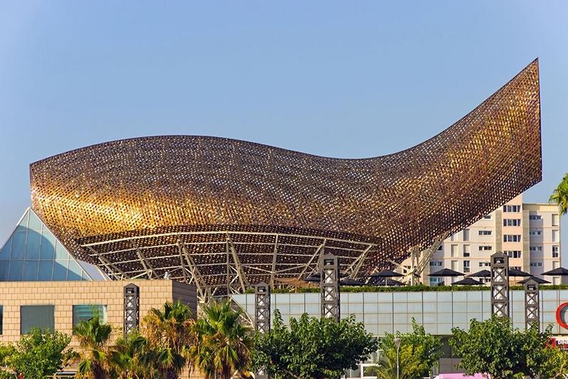 Olympic Fish Pavilion, Barcelona, Spain