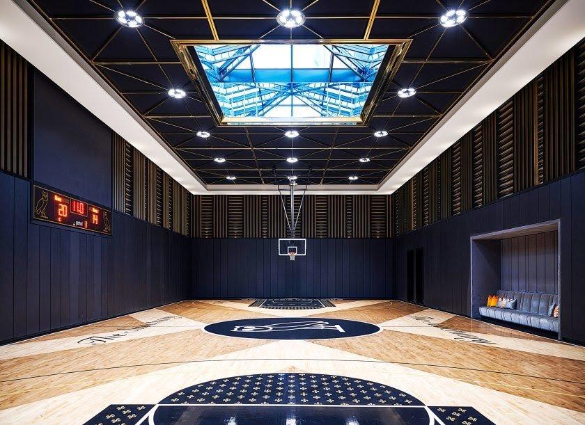 Drake's multi Dollar mansion NBA COURT