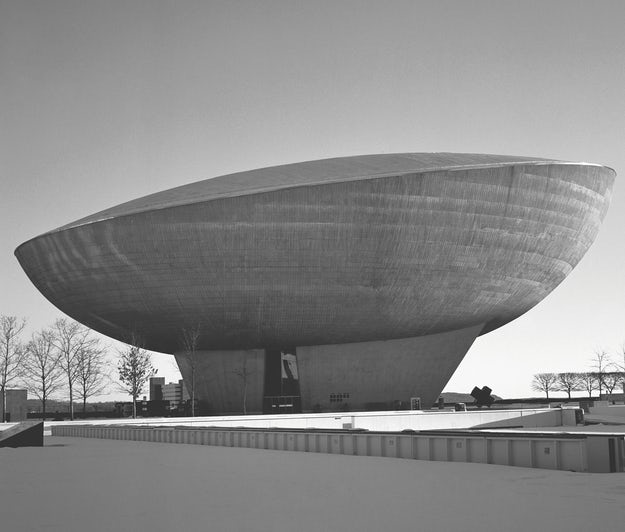'The Egg' Center for the Performing Arts by Wallace Harrison, Albany, N.Y., United States, 1978