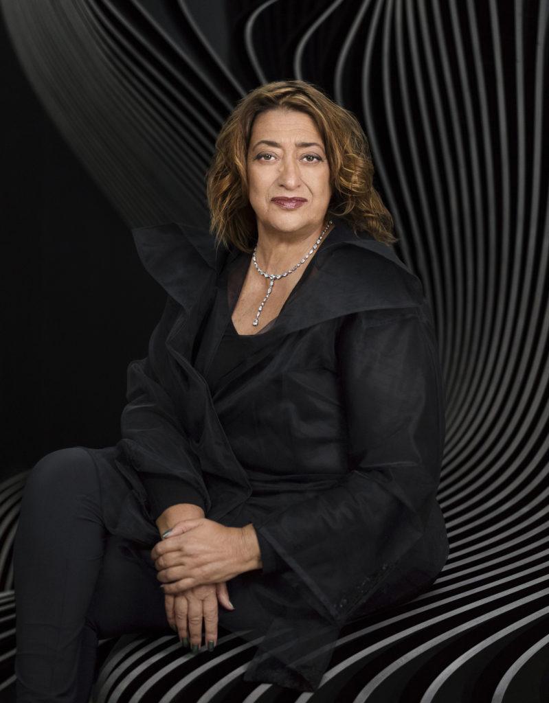 Image of Zaha Hadid_female architect