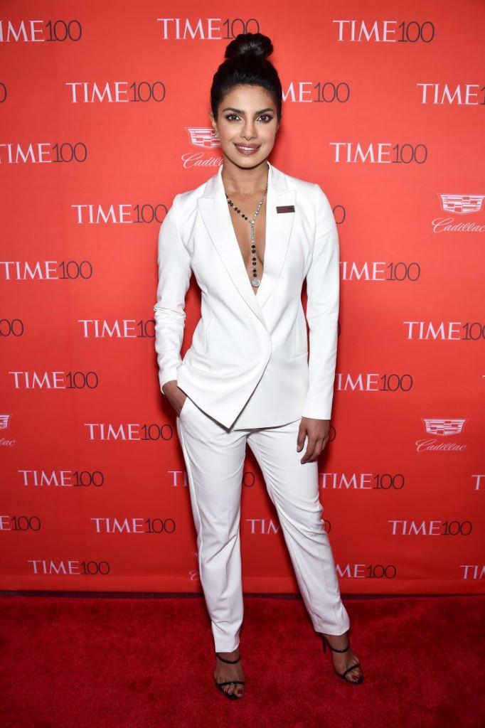 Priyanka Chopra attends 2016 Time 100 Gala. Credit: Dimitrios Kambouris/Getty Images
