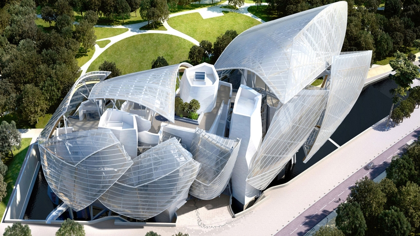 Louis-Vuitton Foundation for Creation  Frank Gehry