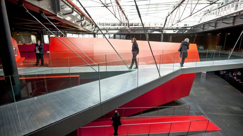 Rome Contemporary Museum of Art by Odile Decq