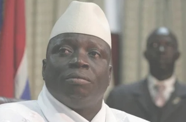 The Gambian ex-president 'Yahya Jameh. The United States warned the Gambians not to threatened or do anything violence to Jammeh.