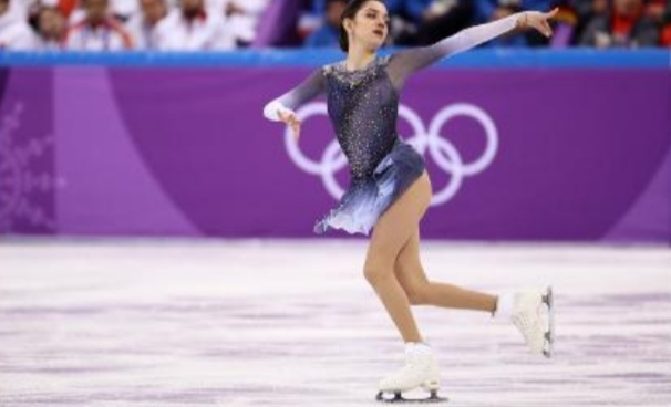 This figure skater set a world record with a routine about 'chrinical death'