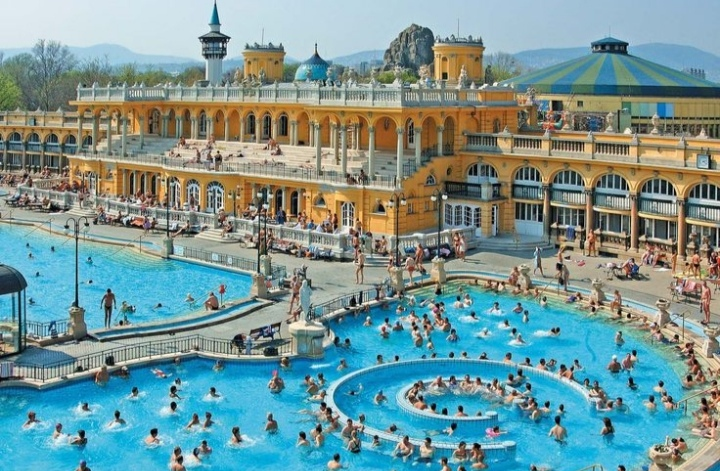 Beautiful Therma in Budapest