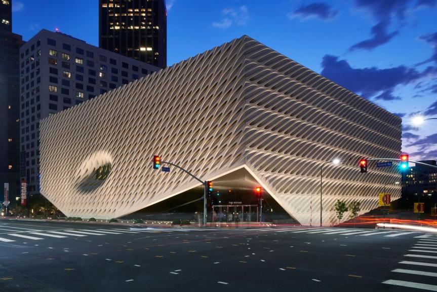 The Broad (2015) by Diller Scofidio + Renfro