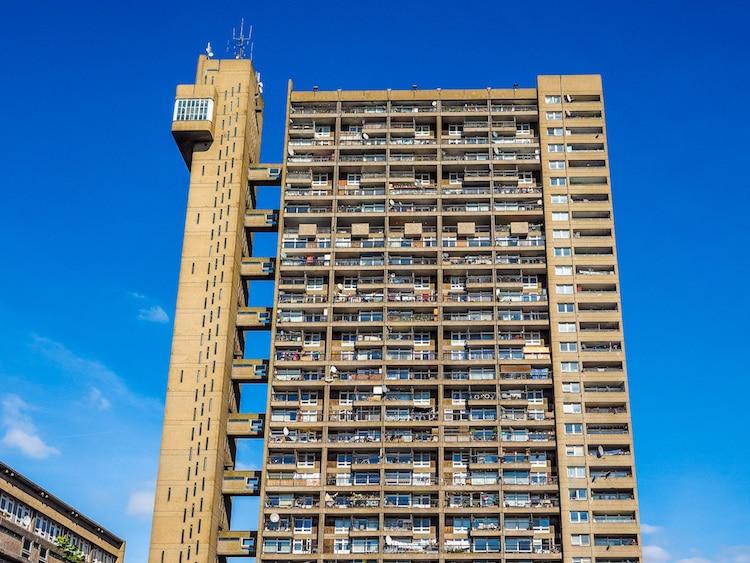 TRELLICK TOWER BY ERNŐ GOLDFINGER. 1972, LONDON.