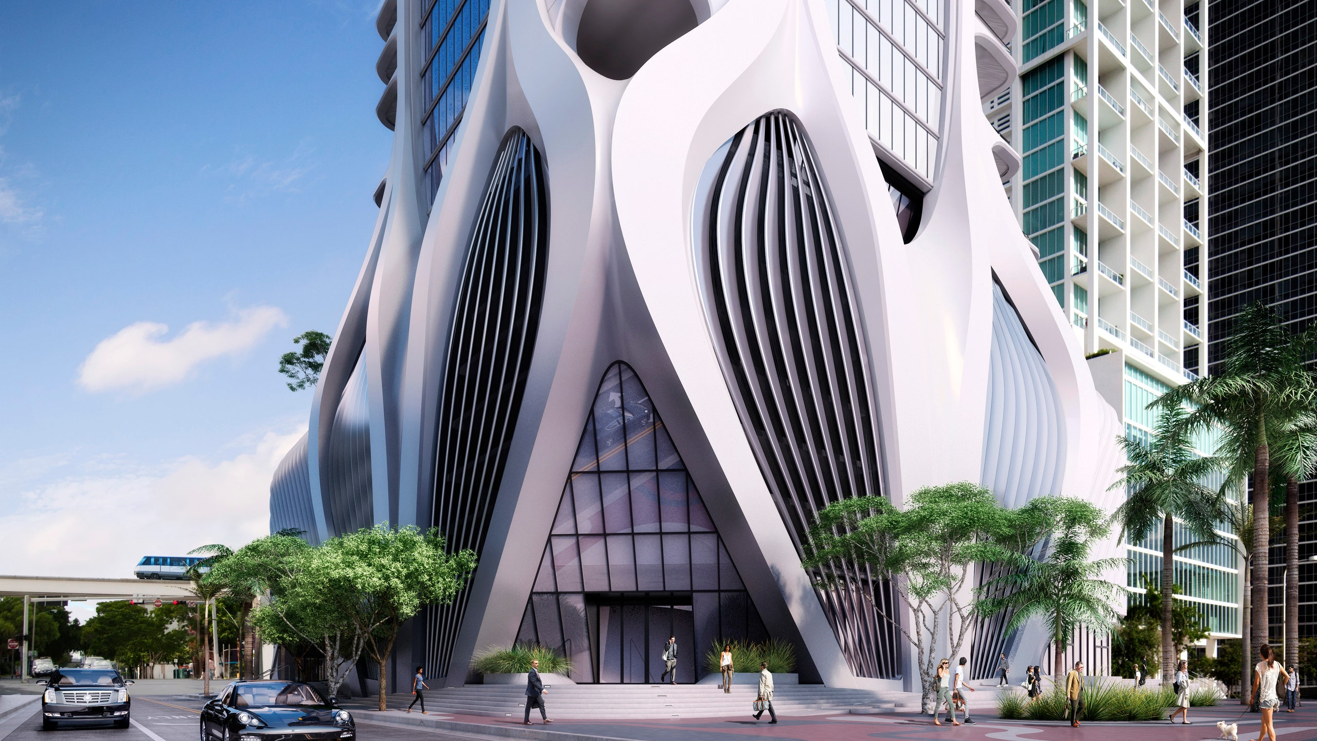 BUILDING DESIGED BY ZAHA HADID