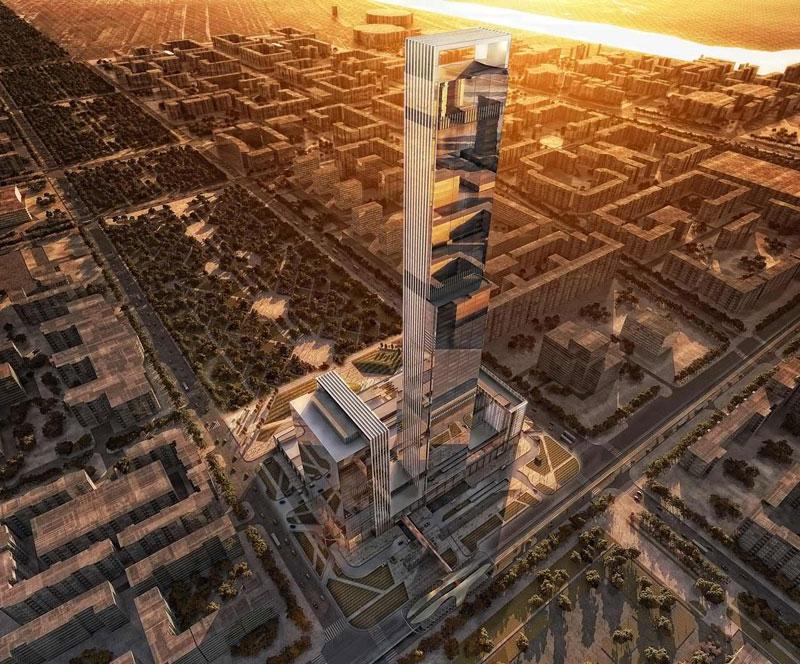 Abu Dhabi Plaza, Shopping mall in Astana, Kazakhstan