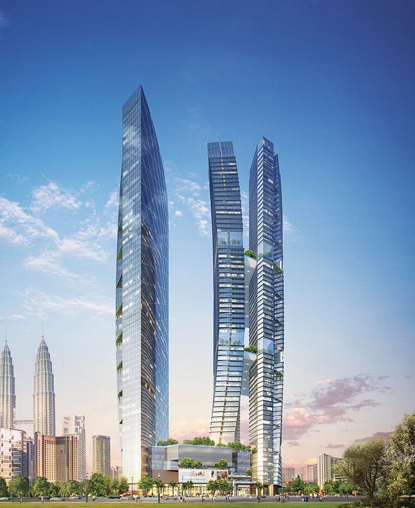 Kempinski Hotel & Residences(308-metres), Kuala Lumpur