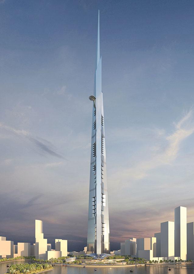 Kingdom (Jeddah) Tower_1000+ meters