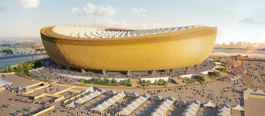 view of lusail staduim_Qatar 2022