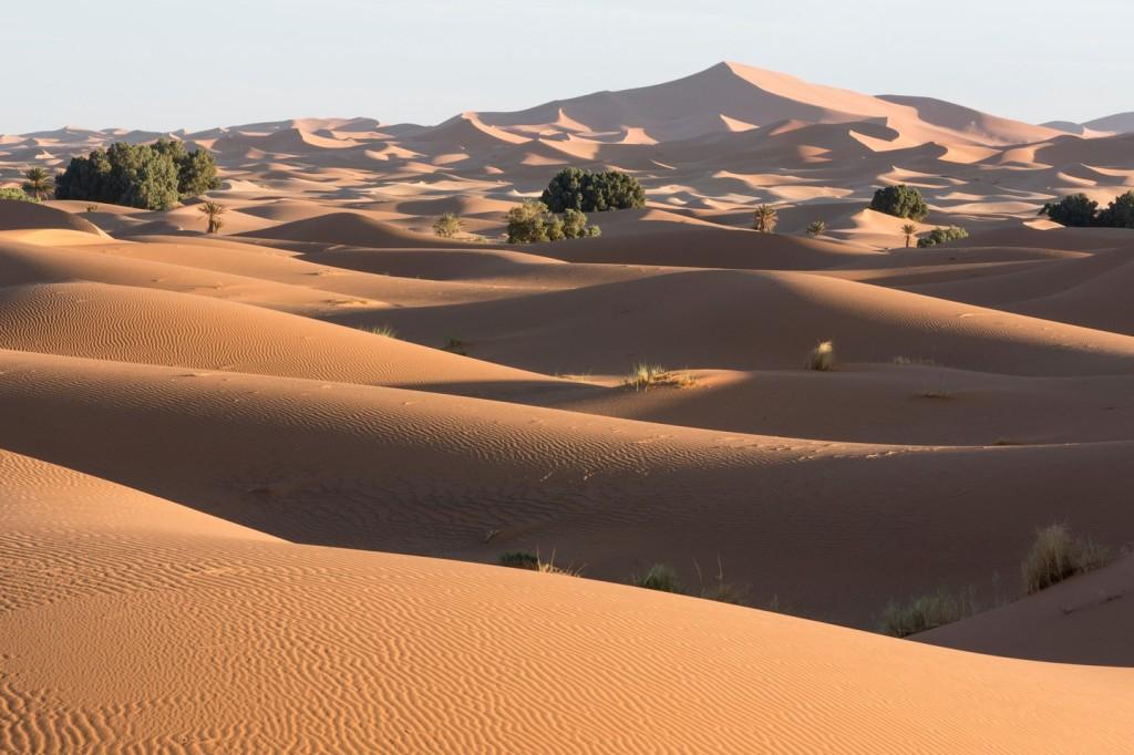 Sahara Desert near Merzouga | © Cosmo Condina / Alamy Stock Photo