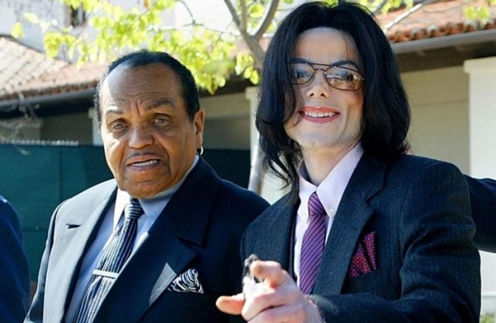 Micheal Jackson and his father Joseph had a complicated relationship. Image©Getty Images