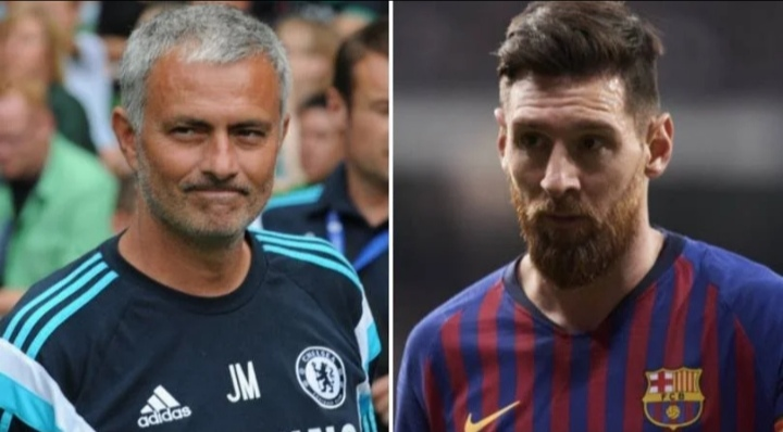 Jose Mourinho persuaded Lionel Messi to join Chelsea from Barcelona in 2014