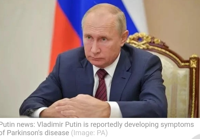 Vladimir Putin is reportedly developing symptoms of Parkinson's disease.