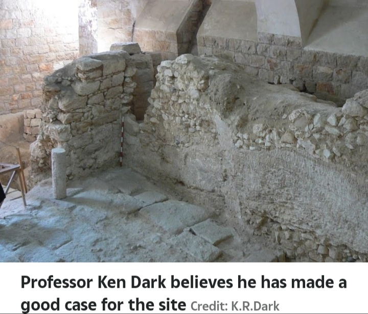 Professor Ken Dark believes he has made a good case for the site. Credit: Professor K.R. Dark