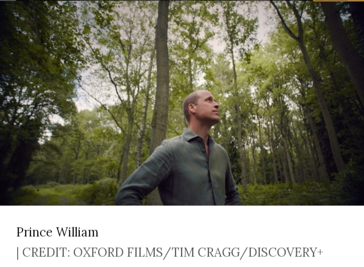 Prince William in the forest