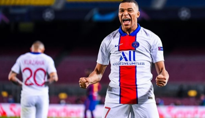 Kylian Mbappe had a wonderful night to remember in the Nou Camp despite Koeman's warning to his stars