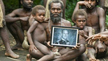 """According to the Vanuatu's Prince Philip worshippers """"his spirit lives on"""""""